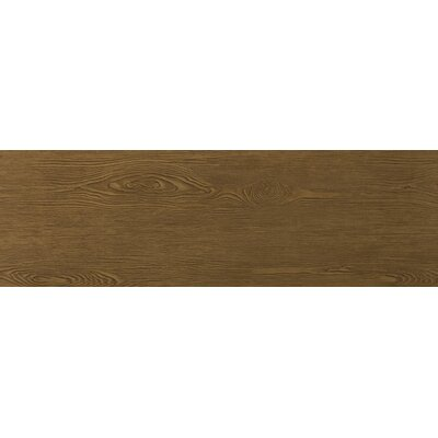 "Emser Tile Alpine 8"" x 36"" Porcelain Wood Tile in Mocha"