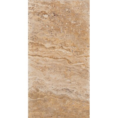"Travertine 8"" x 16 Chiseled Field Tile in Valencia"