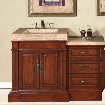 """Silkroad Exclusive Stanton 51"""" Single Bathroom Vanity Set"""