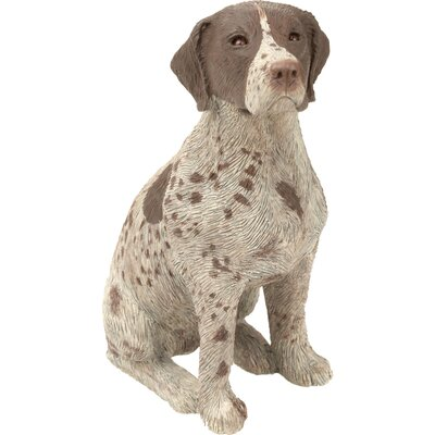 Sandicast Mid Size Sculptures German Shorthaired Pointer Figurine