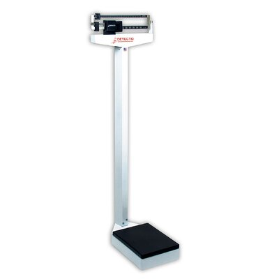 Eye Level Physician Scale Style: With Height Rod and Wheels, Capacity: 180 kg x 100 g