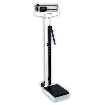 Eye Level Physician Scale 43-S Style: With Height Rod, Capacity: 180 kg x 100 g