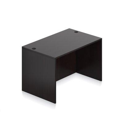 """Superior Laminate Desk Shell Size: 29.5"""" H x 48"""" W x 30"""" D, Color: American Espresso"""