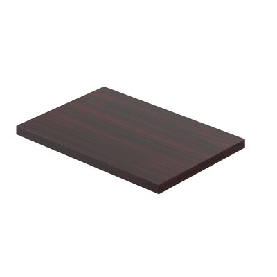 Laminate Pedestal Top Finish: American Mahogany