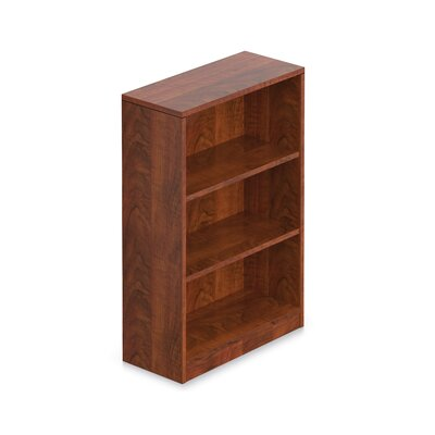 """Standard Bookcase Size: 71"""" H with 4 Shelves, Finish: American Dark Cherry"""