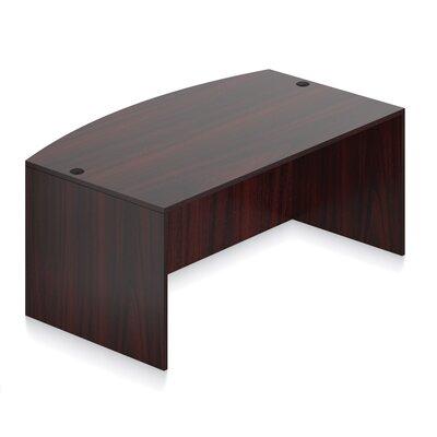 Superior Laminate Desk Shell Color: American Mahogany