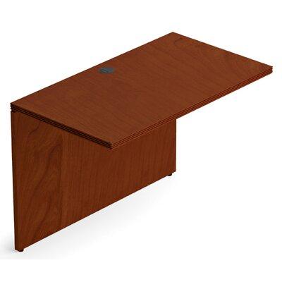 """Ventnor 29"""" H x 42"""" W Desk Bridge Finish: Toffee"""