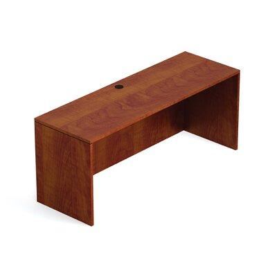 """Superior Laminate Desk Shell Size: 29.5"""" H x 66"""" W x 24"""" D, Color: American Dark Cherry"""