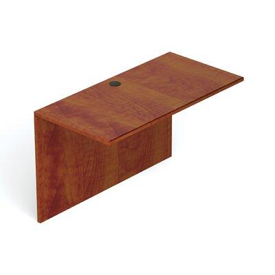 "29.5"" H Desk Bridge Size: 48"" W, Finish: American Dark Cherry"