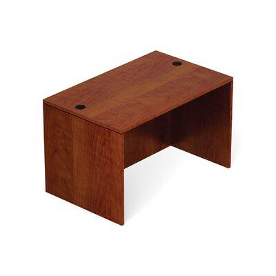 """Superior Laminate Desk Shell Size: 29.5"""" H x 48"""" W x 30"""" D, Color: American Dark Cherry"""