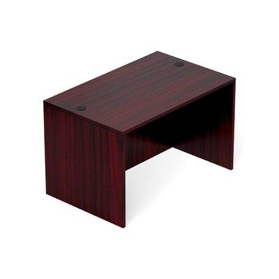 "Superior Laminate Desk Shell Size: 29.5"" H x 48"" W x 30"" D, Color: American Mahogany"