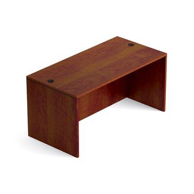 """Superior Laminate Desk Shell Size: 29.5"""" H x 60"""" W x 30"""" D, Color: American Dark Cherry"""