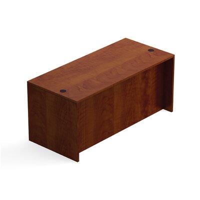 """Superior Laminate Desk Shell Size: 29.5"""" H x 66"""" W x 30"""" D, Color: American Dark Cherry"""
