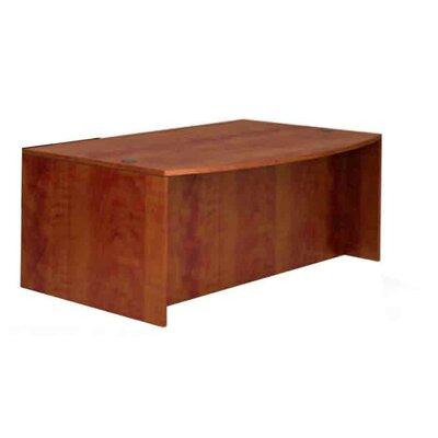 Superior Laminate Desk Shell Color: American Dark Cherry