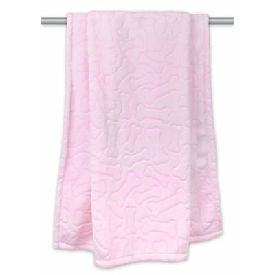 Bone Dry Warm Plush Pet Blanket
