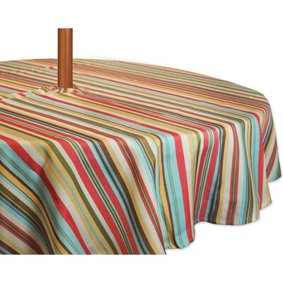 Stripe Umbrella Tablecloth