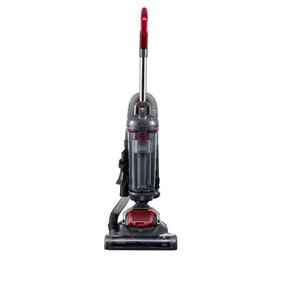 Airswivel Ultra Light Weight Bagless Upright Vacuum Color: Titanium/Monza Red