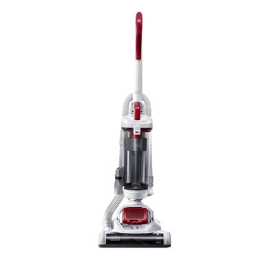 Airswivel Ultra Light Weight Bagless Upright Vacuum Color: White/Monza Red