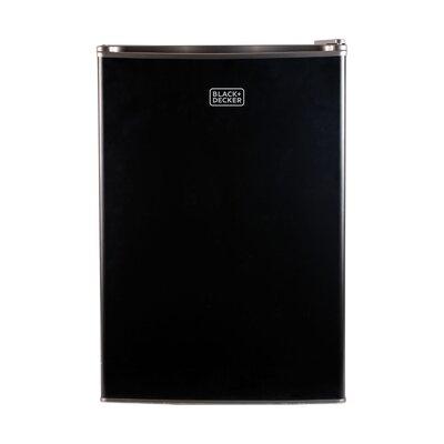 2.5 cu. ft. Compact Refrigerator with Freezer Color: Black