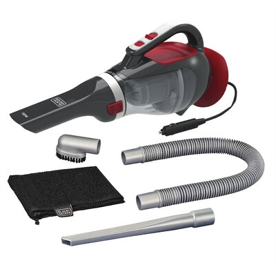 5 Piece 12V Automotive Dust Buster Vacuum Set