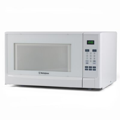 """22"""" 1.4 cu.ft. Countertop Microwave Finish: White"""