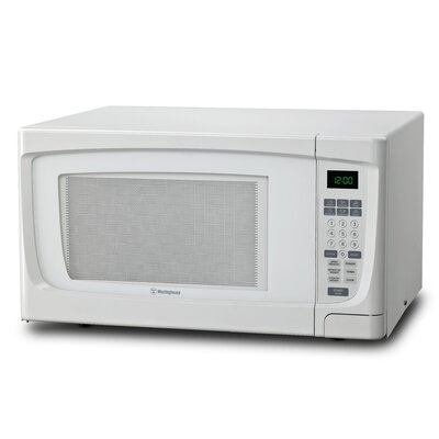 "22"" 1.6 cu.ft. Countertop Microwave Color: White"