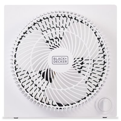 "Frameless Box 9"" Table Fan"