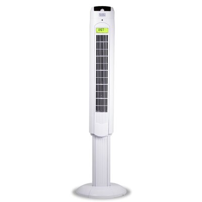 "48"" Oscillating Tower Fan with Remote Control"
