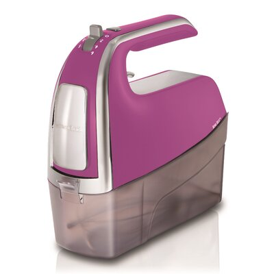 Hand Mixer Color: Raspberry