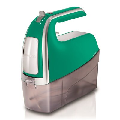 Hand Mixer Color: Emerald