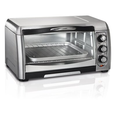 6 Slice Easy Access Toaster Oven