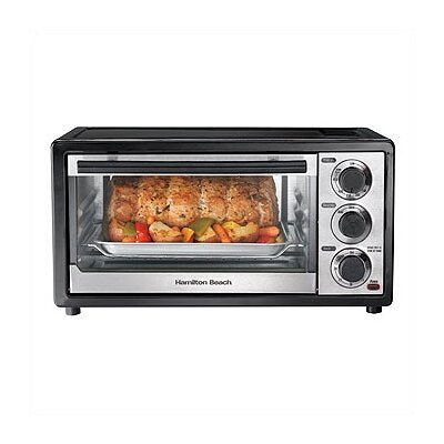 6 Slice Capacity Toaster Oven