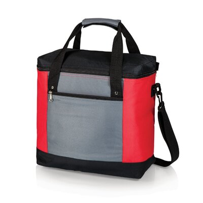 20 Can Montero Tote Cooler Color: Red / Gray