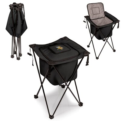 NFL Sidekick Picnic Cooler Color: Black, NFL Team: Minnesota Vikings