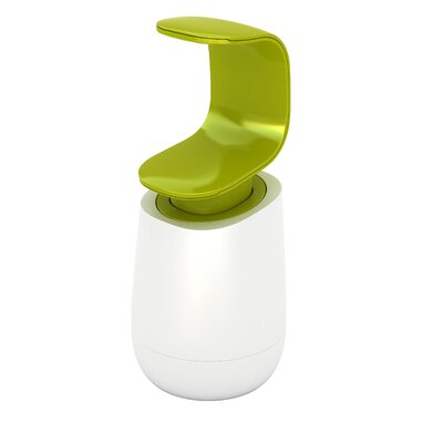 C-Pump Soap Dispenser Color: White / Green