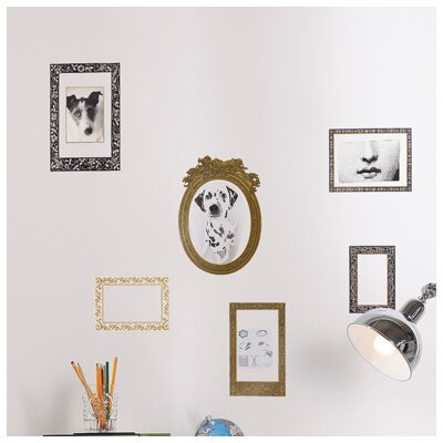 Brewster Home Fashions Euro Living Frames Wall Decal