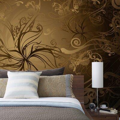 Komar gold wall mural wayfair for Brewster home fashions wall mural