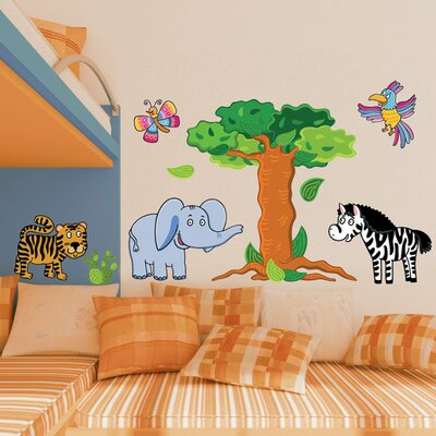Brewster Home Fashions Spirit Jungle Wall Decal