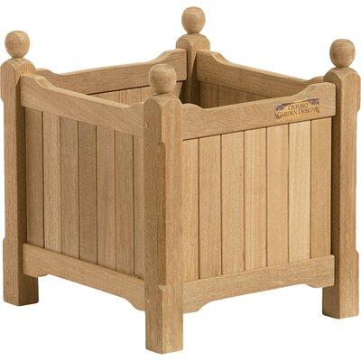 "Harpersfield Shorea Wood Planter Box Size: 19.75"" H x 38"" W x 19"" D"
