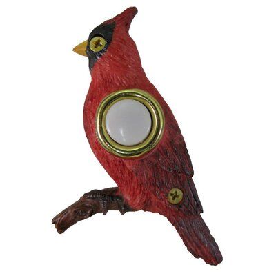 Cardinal Doorbell Surface Mount Pushbutton