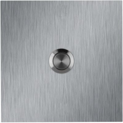 Square Stainless Steel Doorbell Surface Mount Pushbutton
