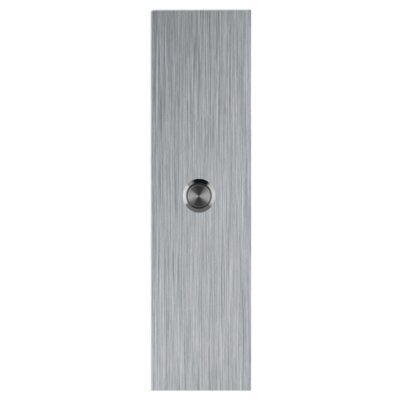 Rectangle Stainless Steel Doorbell Surface Mount Pushbutton Size: Large