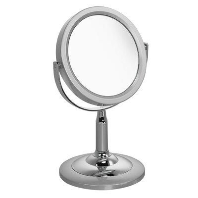 Famego High Gloss Funky 5x Magnification Pedestal Mirror