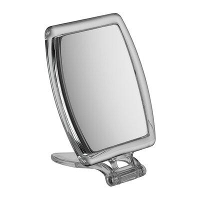 Famego 10x Magnification Perspex Handbag Mirror