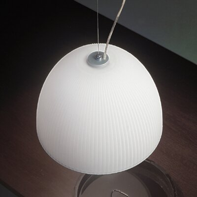 Lucente Bell 1 Light Bowl Pendant
