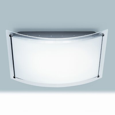 Lucente Zen 2 Light Flush Wall Light