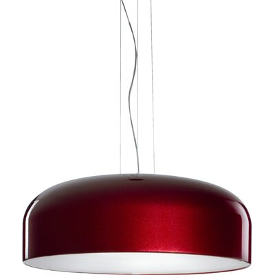 Lucente Mai 1 Light Bowl Pendant