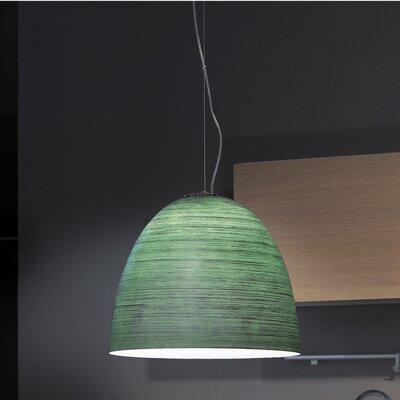 Lucente Deco' 1 Light Bowl Pendant