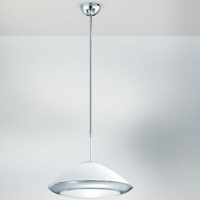 Lucente Club 1 Light Bowl Pendant
