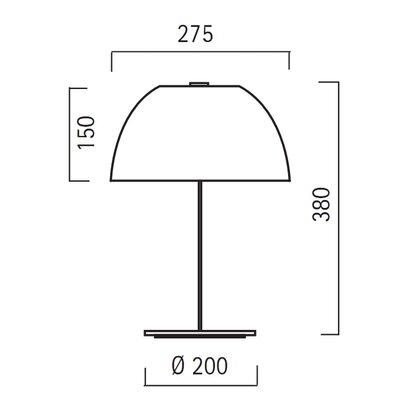 Lucente Pinko 38cm Table Lamp